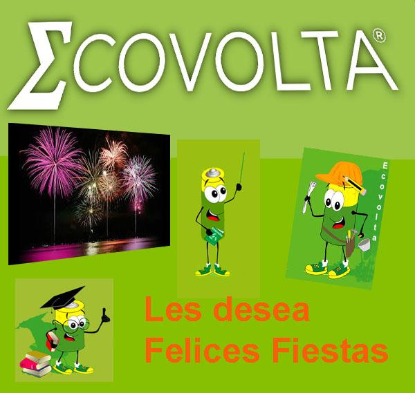 Ecovolta les desea Felices Fiestas